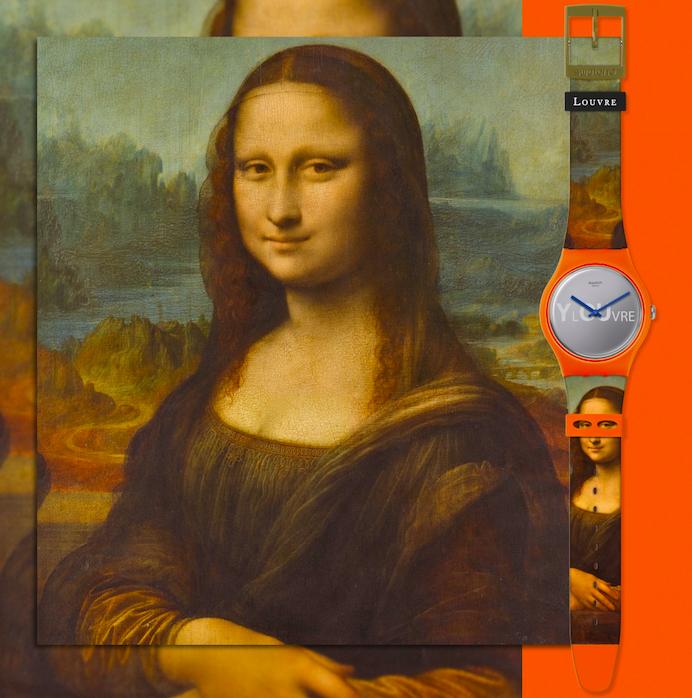 Quiero un reloj de La Mona Lisa y tú también