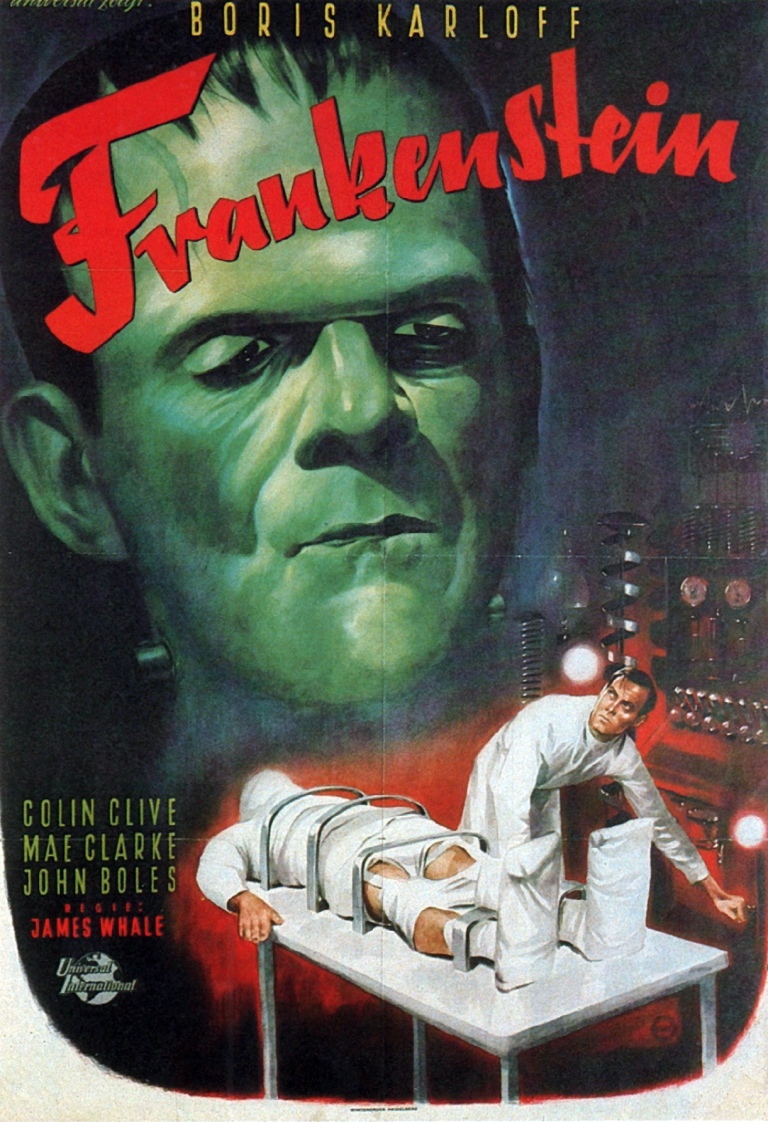 ALL THE MOVIES IN THE WORLD: Frankenstein de 1931