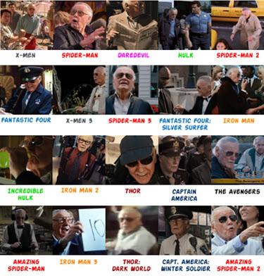 Todos los cameos de Stan Lee en el cine