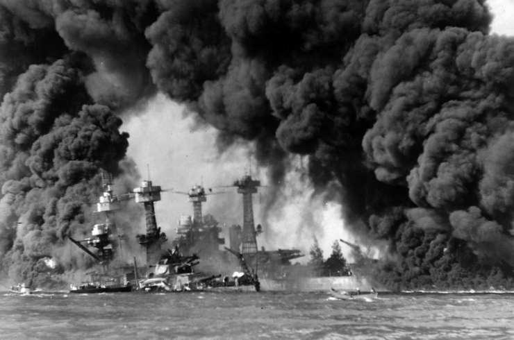 El Ataque a Pearl Harbor ocurrió el 7 de diciembre de 1941