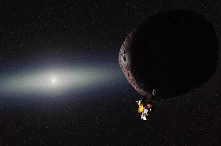 El New Horizons sacó unas fotografías muy impresionantes en su paso por Plutón