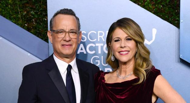 Rita Wilson y su esposo Tom Hanks tienen coronavirus