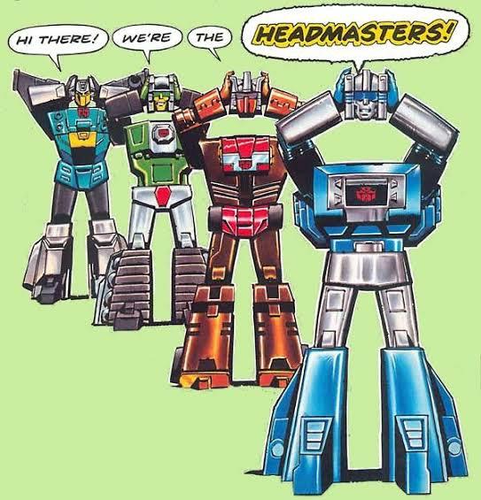 Headmasters la nueva generación de transformers