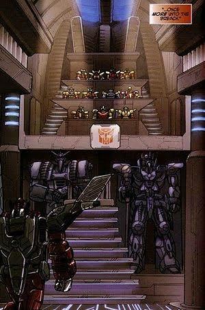 Lideres de Cybertron