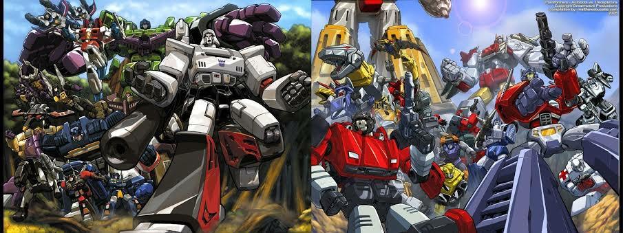 Decepticons vs Autobots