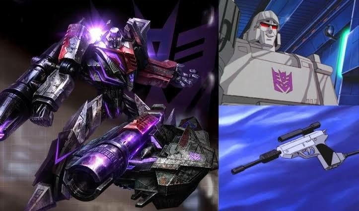 Megatron video juego vs animación
